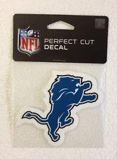 "Detroit Lions 4"" x 4"" Team Logo Truck Car Auto Window Die Cut Decal New Color"