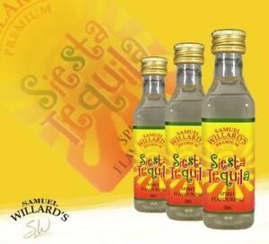 NEW Samuel Willard's Premium Siesta Tequila Spirit Essence - 50ml