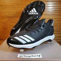 🔥 Adidas Icon Bounce Men's Size 9 Black Baseball CG5241 New Retail $85! 🔥