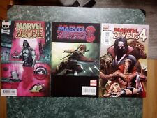 Marvel Zombies 1, 3, 4 #1 [LOT OF 3] 2nd Printing Deadpool VF+ / NM- (MARVEL)