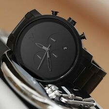MVMT Watches Chrono ALL BLACK stainless steel Men's luxury watch *New In Box