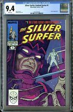 Silver Surfer Limited Series #1 (Marvel 12/88) CGC 9.4 White Pages, Galactus