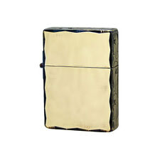 Zippo 1935 Replica 3-sides Hand Cut Antique Oxidized Brass Plating Japan Limited