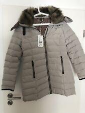 S.Oliver Damen Winterjacke Premium Down Jacket , Gr. 40 ,Beige , Neu mit Etikett
