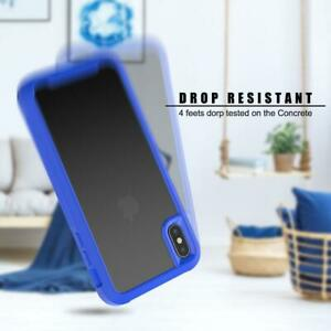 For iPhone 6/7/8 SE 2020 Hard Plastic and Soft TPU BUMPER WITH ACRYLIC .