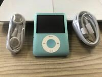 HOT Apple iPod Nano 3rd generation ​8GB Generation  New battery With accessories