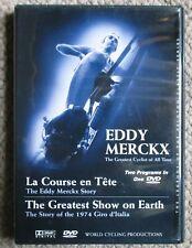 La Course En Tete/The Greatest Show On Earth Dvd Eddy Merckx 1974 Giro D'Italia