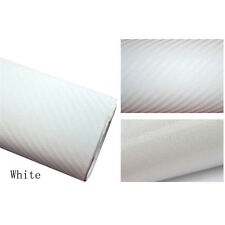 10x127cm 3D Texture CARBON Fiber Wrap Vinyl Decal Car Adhesive Sticker Sheet New