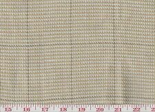 100% Linen Plaid Upholstery Fabric Ralph Lauren R$200y Thornwood Tweed CL Bisque