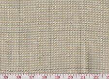 100% Linen Plaid Upholstery Fabric Ralph Lauren R$200y Thornwood Tweed CL Bisque
