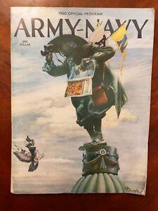 1960 Army Black Knights v Navy Midshipmen Official Football Prog GD Joe Bellino
