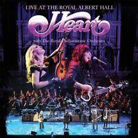 HEART - LIVE AT THE ROYAL ALBERT HALL (CD) EAGLE ROCK  CD NEW!
