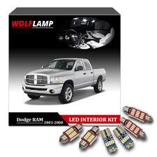11Pcs White LED Interior Kit Car Lights For 2003-2008 Dodge RAM 1500 2500 3500
