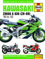 KAWASAKI ZX600 & 636 (ZX-6R) 599cc 1995-2002 HAYNES MANUAL No.3541
