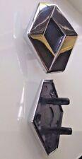 BRAND NEW RENAULT DIAMOND BADGE 61.5mm x 52.5mm CENTER CAP GRILLE CUSTOMISE