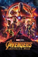 Avengers Infinity War Poster | $7 Postage in Aust | Shipping within 24-48 Hrs