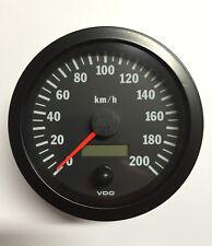 VDO Tachometer Tacho 100mm bis 200 Km/h