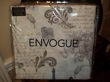 Nip Envogue Eiffel Tower Paris Full/Queen Duvet Cover & Shams Set 3pc