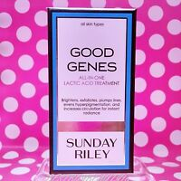 SUNDAY RILEY GOOD GENES LACTIC ACID TREATMENT FULL SIZE 1 OZ  IN BOX! AUTHENTIC!
