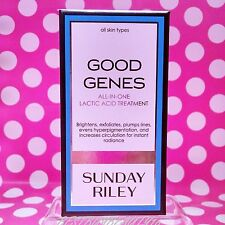 SUNDAY RILEY GOOD GENES LACTIC ACID TREATMENT FULL SIZE 1 OZ  IN BOX! AUTHENTIC!