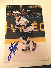 Joel Teasdale SIGNED 4x6 photo BLAINVILLE BOISBRIAND ARMADA / NHL DRAFT 2017