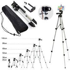 Universal Aluminum Camera Camcorder Tripod Stand w/ PHONE Holder For Canon Nikon