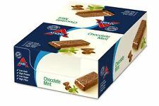 8 Atkins Advantage Chocolate Choc Mint 60g Bars b/before 17/01/20 2 for £20.78!