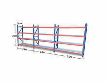 2Mx6Mx0.6M!!! 2400KG!!! Garage Warehouse Steel Storage Shelving Shelves Racking