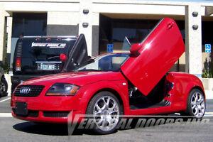 Vertical Doors - Vertical Lambo Door Kit For Audi TT 1999-06 2DR -VDCAUDITT9906