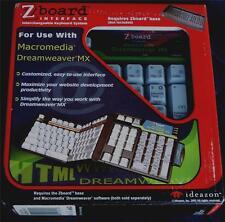 Steelseries / Ideazon Dreamweaver MX Keyset for Zboard / Shift keyboards - NEW
