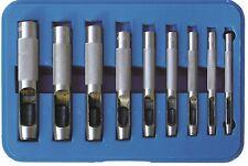 BGS! Henkel Locheisen Satz 3-4-5-6-7-8-10-11-12 mm Lochstanzer Löcher stanzen