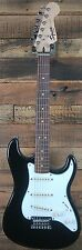 "Squier by Fender Stratocaster 24"" Short Scale Hardtail Electric Guitar BLACK NEW"