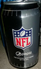 ✰✰ OFFICIAL NFL ✰✰ LIMITED EDITION PEPSI FOOTBALL CAN- OPENED