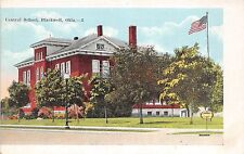 A40/ Blackwell Oklahoma Ok Postcard c1920 Central School Building