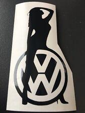 STICKER AUTOCOLLANT VW GOLF GTI TDI POLO PASSAT PIN UP tuning auto