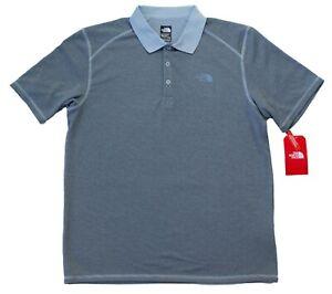 North Face Men's Flashdry Horizon Mesh Polo Shirt - Size M L XL 2XL - New w/Tags