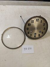 MAUTHE TAMBOUR MANTLE CLOCK DIAL AND BEZEL WITH GLASS WESTMINSTER CHIMES