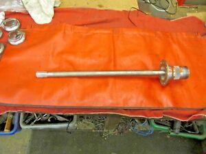 VGC!! MG Midget,Austin Healey Sprite Original Late Left Wire Wheel Axle