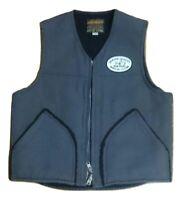 Iron Heart Boa Vest Sleeveless Cotton Jacket Men Size L Genuine