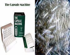 """00"" THE CAPSULE MACHINE Filler Filling + 1,000 *CAPSULE CONNECTION* Capsules"