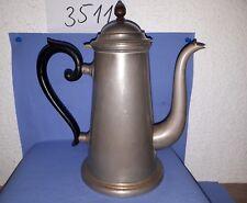 Alte Kaffeekanne um 1900 Reinnickel gest. F.R.D.&Co Patent 4 M