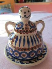 Bunzlau Keramik, kleine Käseglocke , 8 cm hoch