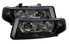 ANGEL EYES Headlights in clear black finish for Seat Toledo 2 Leon 1M from 99