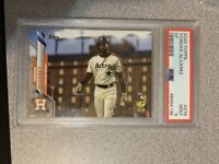 2020 Topps YORDAN ALVAREZ SP #276 PSA 9 Mint Rookie RC Image Variation ROY!