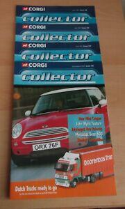 Corgi Collector brochures (2001)