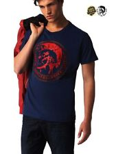 NWT Men's T-Shirt DIESEL T-DIEGO - AN Navy Cotton T-Shirt Available Sizes RRP£85