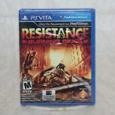 Resistance: Burning Skies (Sony PlayStation Vita, 2012) Brand New Factory Sealed