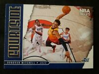 J60 2020-21 Panini NBA Hoops Courtside #5 Donovan Mitchell Utah Jazz