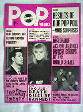 POP  WEEKLY MAGAZINE,No24, 6th FEB 1965,16 PAGES,BEATLES,ELVIS, ++VG CONDITION
