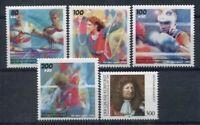 Germania 1995 Mi. 1777-1781 Nuovo ** 100% Sport, Grande elettore